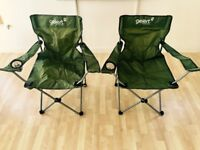 SET OF TWO GELERT CAMPING CHAIRS