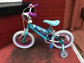 Childrens Frozen Bike