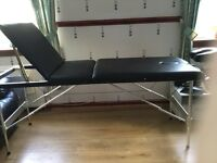 Portable Massage Table Black weight 16kg