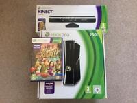 Xbox 360 Elite/kinect/game