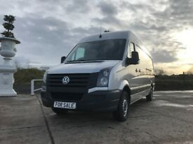 *** VW CRAFTER CR35 TDI 2.0 METALLIC SILVER ONLY £49 A WEEK ON FINANCE ***
