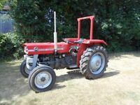 Great Little Massey Ferguson 135 tractor