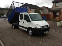 2011 IVECO DAILY DOUBLECAB TIPPER##ONLY 86K MILES##