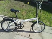 Carerra transit foldaway bike