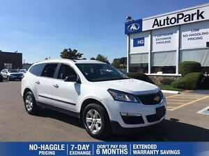 2016 Chevrolet Traverse 8 Passenger| B.up Camera|AWD|Alloys|Blue