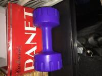 Dumbells - 3 kilo wights - set of 2