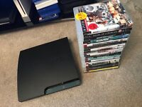 PS3 Slim with 19 good games e.g. GTA V