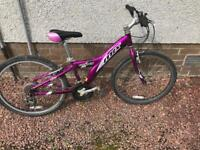 "Girls Giant MXT 250 Mountain Bike 24"" Wheels"