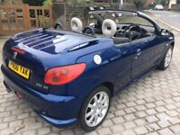 2006 PEUGEOT 206 CC 1.6 ALLURE 2 DR CONVERTIBLE BEAUTIFUL CAR M.O.T MARCH/2018