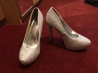 QUIZ Size 6 Sparkly / Jewelled High Heels - perfect for prom!
