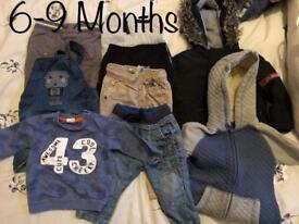 Boy clothes 6-9 Month