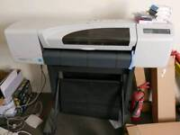 Hi Designjet510 A1 plotter recently serviced with ink cartridges