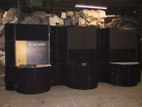 Huge Exhibition Material Partition from $8000 special to $1450