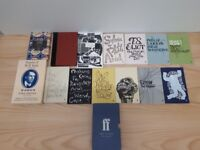 23 Vintage Old & Modern Poetry Travel Books Faber Box Set Plath FREE local delivery