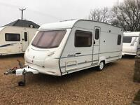 Ace award Northstar 4 berth Fixed Bed With Awning