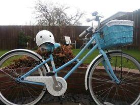 Victoria Pendleton - Littleton (Raleigh Blue bike - price includes helmet) Very good condition