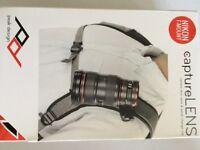 New Peak Design Capture Lens carry and quick change clip NIKON F-MOUNT