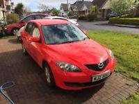 REDUCED !!!!2007 Mazda 3 economic 1.4 TS, rare model full mot