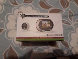 3.5 inch Memory Peephole Viewer