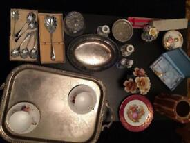 Selection of Collectables including silver & gold