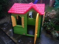 Little Tikes playhouse and other items