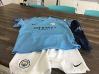 Manchester City full kit.