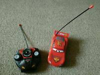 Lightning mcqueen remote control car