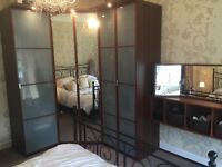 Beutiful corner wadropes and additional cabinents and mirror all amtching sold seperately