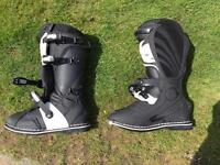 Thor Motocross Boots Worn Once size 10