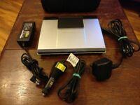 TOSHIBA SD-P1400 portable DVD player