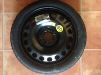 VAUXHALL VECTRA SPACE SAVER SPARE WHEEL