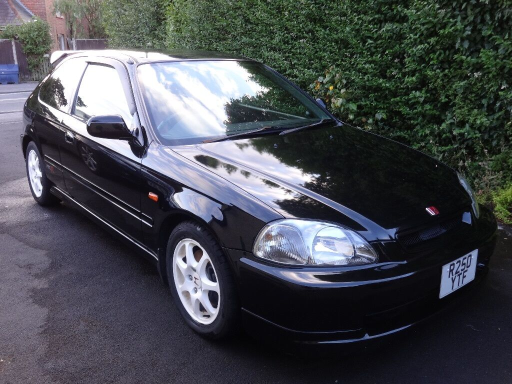 1998 black honda civic type r ek9 93 950 miles 185bhp in for Honda civic ek9