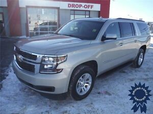 2016 Suburban LT-Heated Leather Seats-Rear View Cam-Remote Start