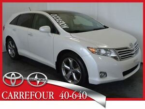 2011 Toyota Venza V6 AWD Touring Cuir+Camera de Recul+Toit Ouvra