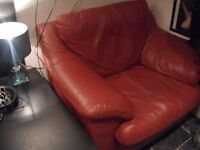 FREE! FREE! FREE! Leather red armchair