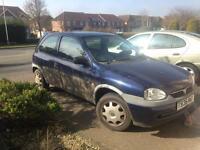 Vauxhall Corsa Spares/Repairs/Scrap