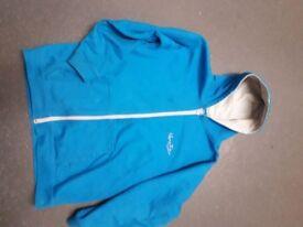 Kung - Fu Blue Hoodie (Designed for Children aged 7-11)