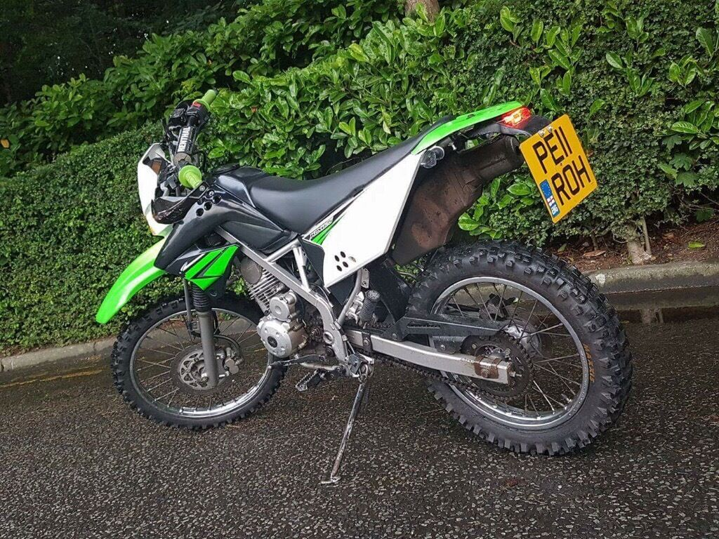 kawasaki klx 125 road legal in burnley lancashire gumtree. Black Bedroom Furniture Sets. Home Design Ideas