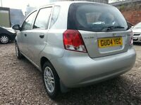 2004 Deawoo KALOS 1.1 PETROL,, ONE YEAR MOT,, LOW MILEAGE,, EXCELLENT CONDITION