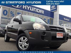 2007 Hyundai Tucson GL V6 | CLOTH | SAFETY CERTIFIED | ALLOYS | Stratford Kitchener Area image 1