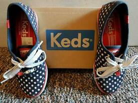 Girls KEDS shoes size 11.5 uk