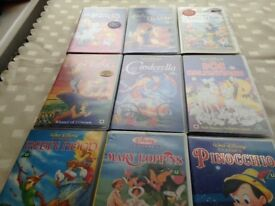 Disney VHS Video Tapes