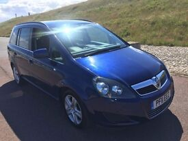Vauxhall Zafira 1.7 TD ecoFLEX 16v Exclusiv 2011, MPV 85K CAT D REPAIRED UBER PRIVATE TAXI NEWCASTLE