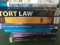 2nd Year QUB Law Textbooks