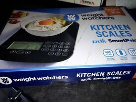 Weightwatchers scales new only had them 2 weeks used once cost £39.99 want £30