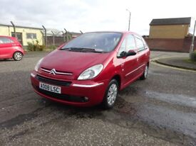2008 CITREON PICASSO 1.6 DIESEL,LONG MOT FULL SERVICE HISTORY,2 KEYS
