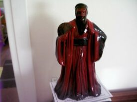 Royal Doulton Flambe Figurine 'Confucius' with box