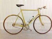 Single speed hand build Columbus Tubing Feather weight