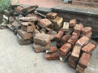 Assorted Sandstone and Imperial Bricks for Free