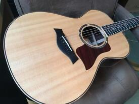 Taylor 812e Acoustic Guitar Showroom Condition